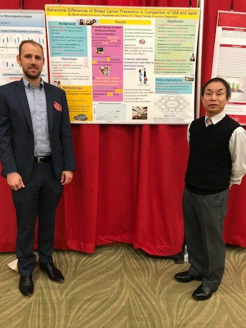 Barret Levine and Dr. Tetsuji Yamada